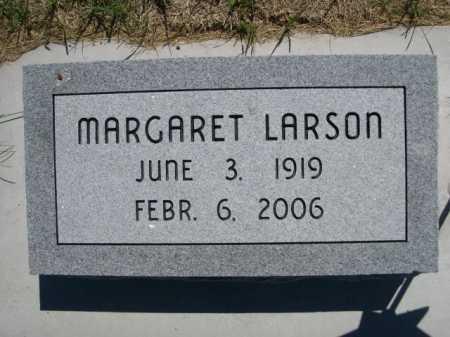 LARSON, MARGARET - Dawes County, Nebraska   MARGARET LARSON - Nebraska Gravestone Photos