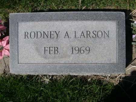 LARSON, RODNEY A. - Dawes County, Nebraska | RODNEY A. LARSON - Nebraska Gravestone Photos