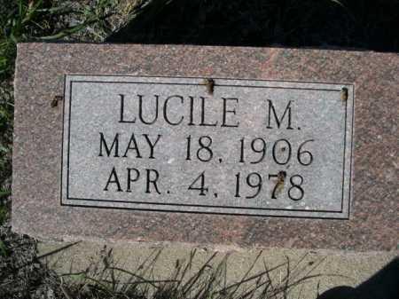 LATHROP, LUCILE M. - Dawes County, Nebraska   LUCILE M. LATHROP - Nebraska Gravestone Photos