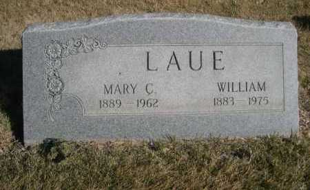 LAUE, WILLIAM - Dawes County, Nebraska | WILLIAM LAUE - Nebraska Gravestone Photos