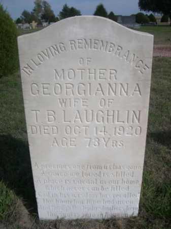 LAUGHLIN, GEORGIANNA - Dawes County, Nebraska   GEORGIANNA LAUGHLIN - Nebraska Gravestone Photos