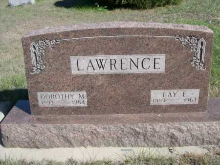 LAWRENCE, DOROTHY M - Dawes County, Nebraska | DOROTHY M LAWRENCE - Nebraska Gravestone Photos
