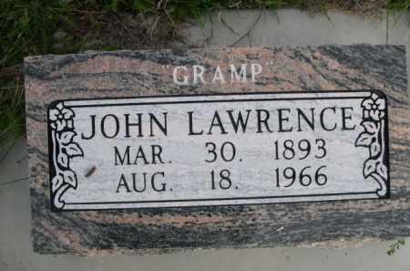 LAWRENCE, JOHN - Dawes County, Nebraska | JOHN LAWRENCE - Nebraska Gravestone Photos