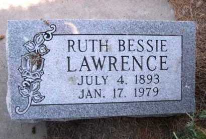 LAWRENCE, RUTH BESSIE - Dawes County, Nebraska | RUTH BESSIE LAWRENCE - Nebraska Gravestone Photos