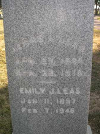 LEAS, EMILY J. - Dawes County, Nebraska   EMILY J. LEAS - Nebraska Gravestone Photos