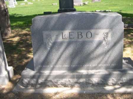 LEBO, FAMILY - Dawes County, Nebraska | FAMILY LEBO - Nebraska Gravestone Photos
