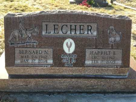 LECHER, HARRIET E. - Dawes County, Nebraska | HARRIET E. LECHER - Nebraska Gravestone Photos