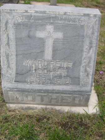 LECHER, MARGRETE - Dawes County, Nebraska | MARGRETE LECHER - Nebraska Gravestone Photos