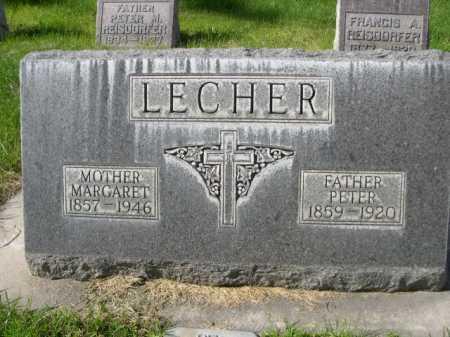 LECHER, MARGARET - Dawes County, Nebraska   MARGARET LECHER - Nebraska Gravestone Photos