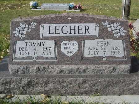 LECHER, TOMMY - Dawes County, Nebraska | TOMMY LECHER - Nebraska Gravestone Photos