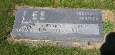 LEE, CHESTER E. - Dawes County, Nebraska | CHESTER E. LEE - Nebraska Gravestone Photos