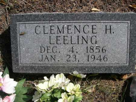 LEELING, CLEMENCE H. - Dawes County, Nebraska   CLEMENCE H. LEELING - Nebraska Gravestone Photos