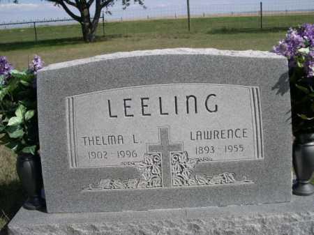 LEELING, THELMA L. - Dawes County, Nebraska | THELMA L. LEELING - Nebraska Gravestone Photos