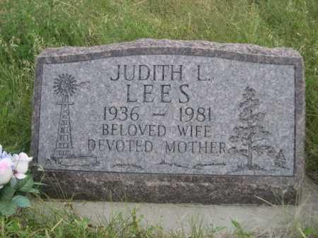 LEES, JUDITH L. - Dawes County, Nebraska | JUDITH L. LEES - Nebraska Gravestone Photos