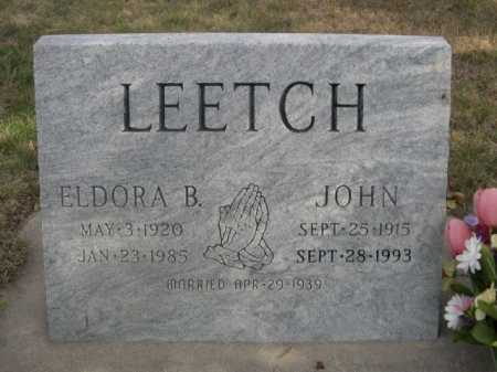 LEETCH, JOHN - Dawes County, Nebraska | JOHN LEETCH - Nebraska Gravestone Photos