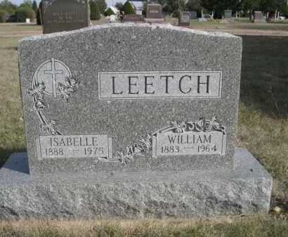 LEETCH, ISABELLE - Dawes County, Nebraska | ISABELLE LEETCH - Nebraska Gravestone Photos