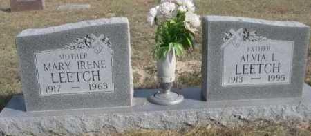 LEETCH, MARY IRENE - Dawes County, Nebraska   MARY IRENE LEETCH - Nebraska Gravestone Photos