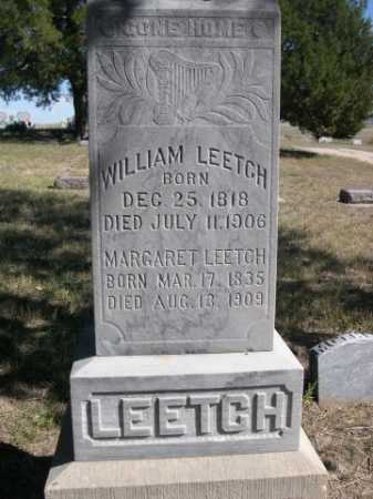 LEETCH, WILLIAM - Dawes County, Nebraska | WILLIAM LEETCH - Nebraska Gravestone Photos