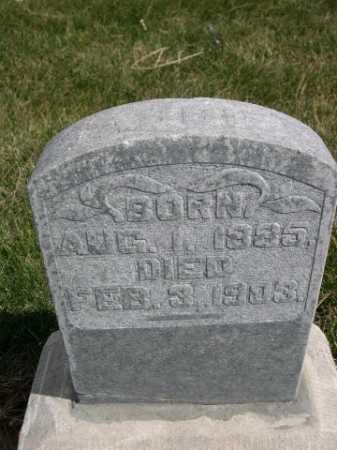 LEIGHTON, ABBIE - Dawes County, Nebraska | ABBIE LEIGHTON - Nebraska Gravestone Photos