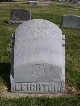 LEIGHTON, FAMILY - Dawes County, Nebraska | FAMILY LEIGHTON - Nebraska Gravestone Photos