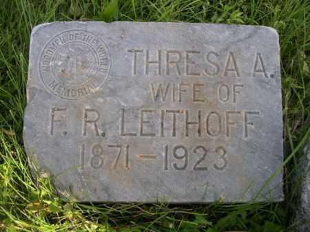 LEITHOFF, THRESA A. - Dawes County, Nebraska | THRESA A. LEITHOFF - Nebraska Gravestone Photos