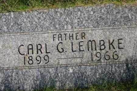 LEMBKE, CARL G. - Dawes County, Nebraska | CARL G. LEMBKE - Nebraska Gravestone Photos