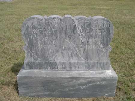 LEMMON, CHILDREN OF MR. & MRS. ROY - Dawes County, Nebraska   CHILDREN OF MR. & MRS. ROY LEMMON - Nebraska Gravestone Photos