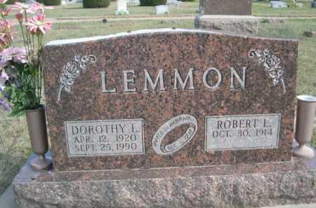 LEMMON, ROBERT L. - Dawes County, Nebraska | ROBERT L. LEMMON - Nebraska Gravestone Photos