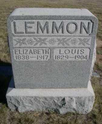 LEMMON, ELIZABETH - Dawes County, Nebraska | ELIZABETH LEMMON - Nebraska Gravestone Photos