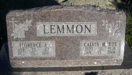 "LEMMON, CALVIN M. ""BUS"" - Dawes County, Nebraska 