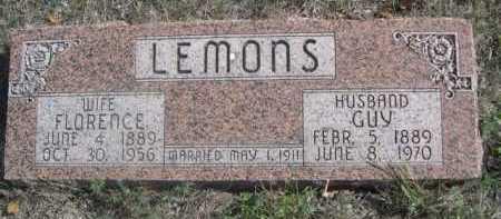LEMONS, GUY - Dawes County, Nebraska | GUY LEMONS - Nebraska Gravestone Photos