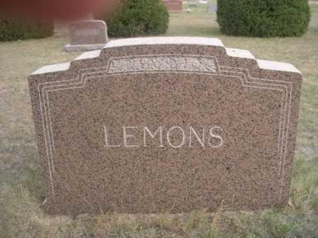 LEMONS, FAMILY - Dawes County, Nebraska | FAMILY LEMONS - Nebraska Gravestone Photos