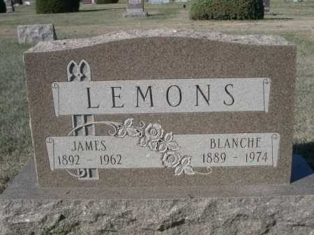 LEMONS, JAMES - Dawes County, Nebraska | JAMES LEMONS - Nebraska Gravestone Photos