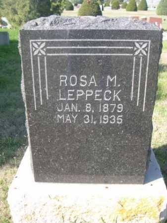 LEPPECK, ROSA M. - Dawes County, Nebraska   ROSA M. LEPPECK - Nebraska Gravestone Photos