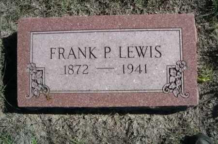 LEWIS, FRANK P. - Dawes County, Nebraska   FRANK P. LEWIS - Nebraska Gravestone Photos
