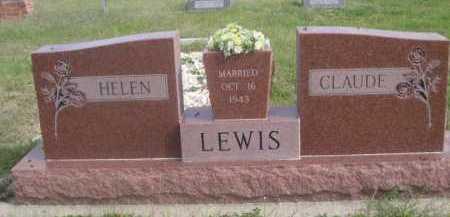 LEWIS, CLAUDE - Dawes County, Nebraska | CLAUDE LEWIS - Nebraska Gravestone Photos