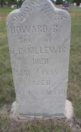 LEWIS, HOWARD B. - Dawes County, Nebraska | HOWARD B. LEWIS - Nebraska Gravestone Photos