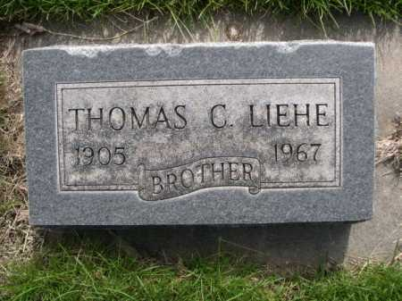 LIEHE, THOMAS C. - Dawes County, Nebraska | THOMAS C. LIEHE - Nebraska Gravestone Photos