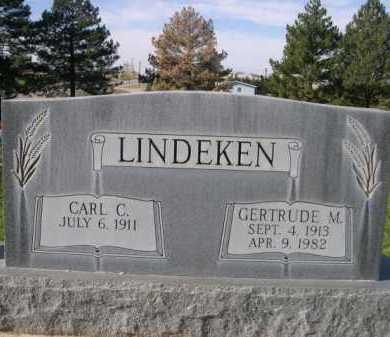 LINDEKEN, GERTRUDE M. - Dawes County, Nebraska | GERTRUDE M. LINDEKEN - Nebraska Gravestone Photos