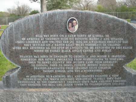 LINDEKEN, FRANCES CLOE - Dawes County, Nebraska | FRANCES CLOE LINDEKEN - Nebraska Gravestone Photos