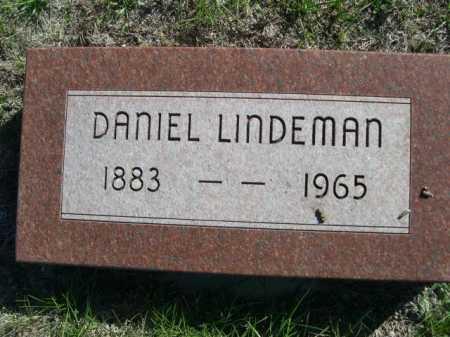 LINDEMAN, DANIEL - Dawes County, Nebraska | DANIEL LINDEMAN - Nebraska Gravestone Photos