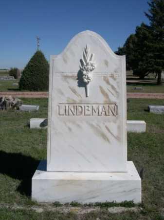 LINDEMAN, FAMILY - Dawes County, Nebraska   FAMILY LINDEMAN - Nebraska Gravestone Photos
