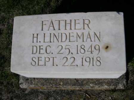 LINDEMAN, H. - Dawes County, Nebraska | H. LINDEMAN - Nebraska Gravestone Photos