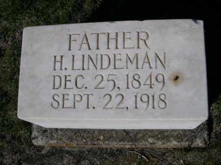 LINDEMAN, H. - Dawes County, Nebraska   H. LINDEMAN - Nebraska Gravestone Photos