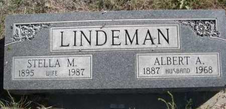 LINDEMAN, STELLA M. - Dawes County, Nebraska | STELLA M. LINDEMAN - Nebraska Gravestone Photos