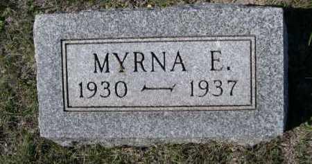 LINGEL, MYRNA E. - Dawes County, Nebraska | MYRNA E. LINGEL - Nebraska Gravestone Photos