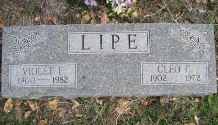 LIPE, CLEO C. - Dawes County, Nebraska | CLEO C. LIPE - Nebraska Gravestone Photos