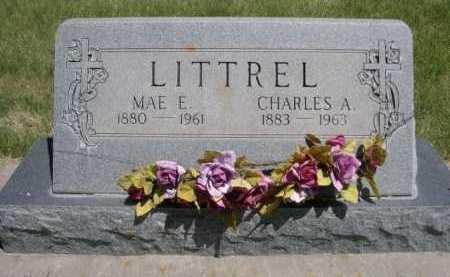 LITTREL, CHARLES A. - Dawes County, Nebraska | CHARLES A. LITTREL - Nebraska Gravestone Photos