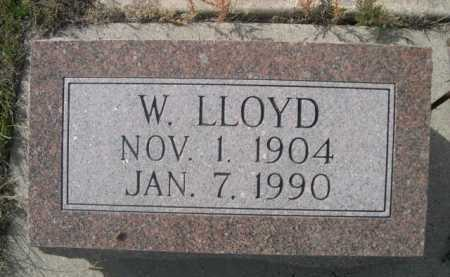 PIPHER, W. LLOYD - Dawes County, Nebraska | W. LLOYD PIPHER - Nebraska Gravestone Photos