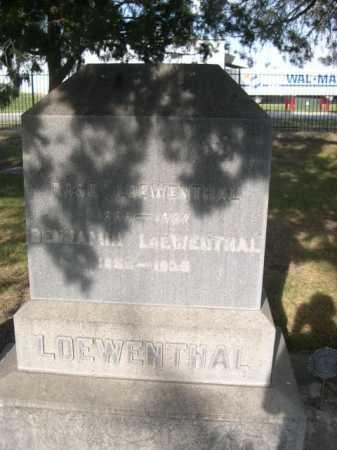 LOEWENTHAL, BENJIMIN - Dawes County, Nebraska | BENJIMIN LOEWENTHAL - Nebraska Gravestone Photos
